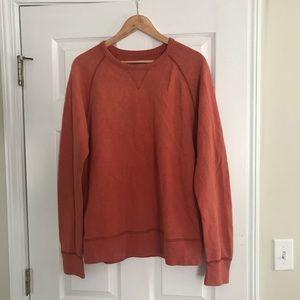 J Crew fleece sweatshirt